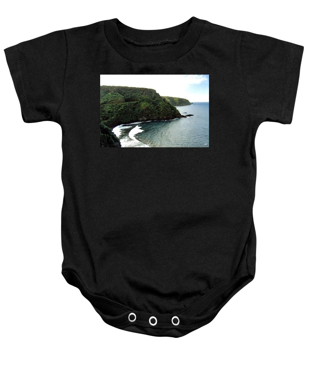 1986 Baby Onesie featuring the photograph Highway To Hana by Will Borden