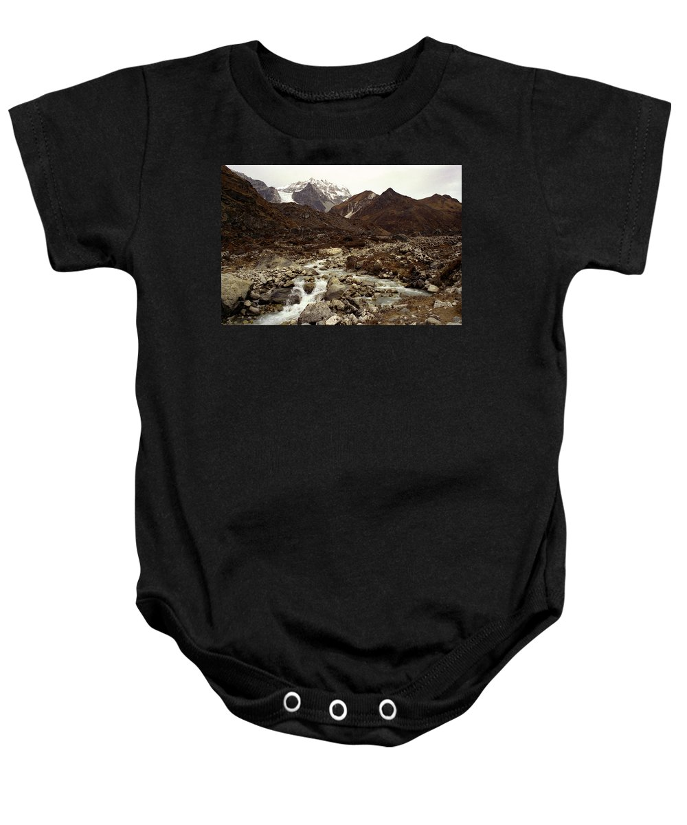 Himalaya Baby Onesie featuring the photograph Himalaya by Patrick Klauss