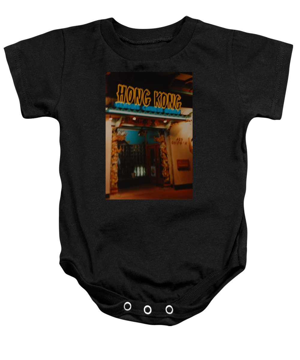 Los Angeles Baby Onesie featuring the photograph Hong Kong by Rob Hans