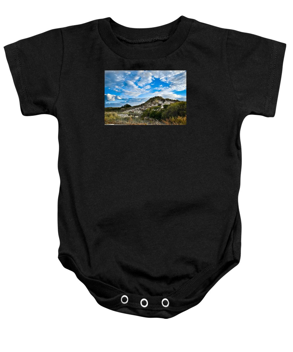 Horseneck Baby Onesie featuring the photograph Horseneck Beach Ma. 2 by Troy DeTerra