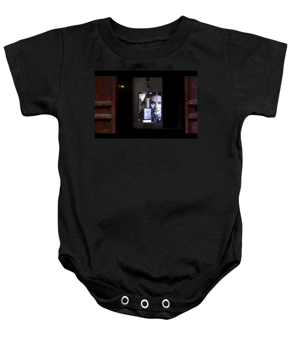 Dream Baby Onesie featuring the painting Hypnos Rome by Charles Stuart