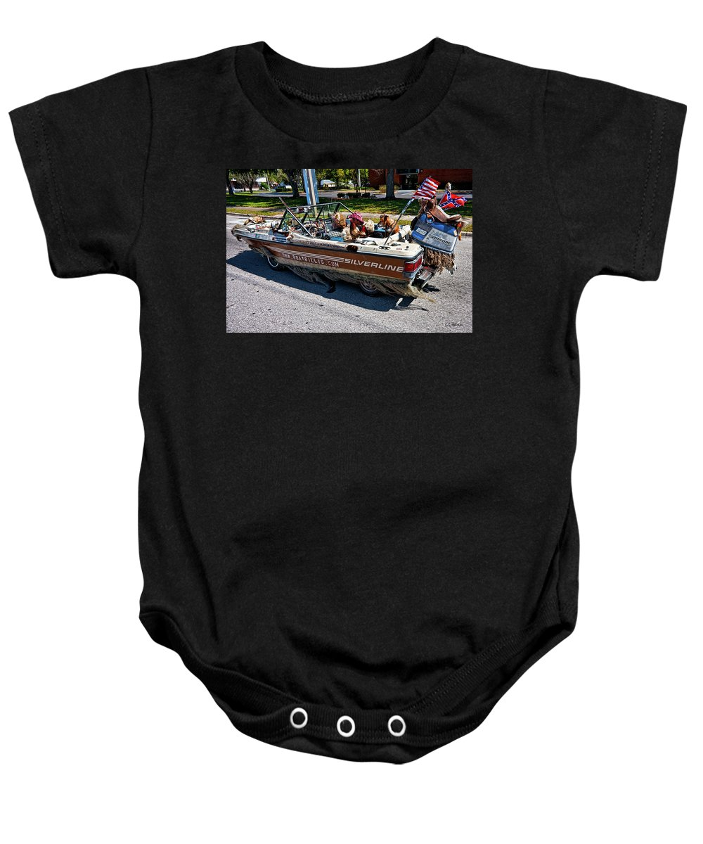 Boat Baby Onesie featuring the photograph Identity Crisis by Christopher Holmes