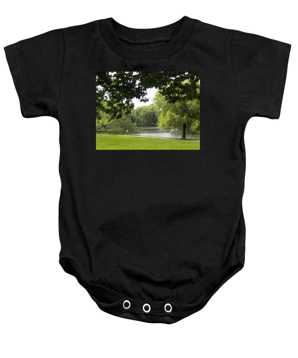 Landscape Baby Onesie featuring the photograph Idyllic Afternoon by Jan Gilmore