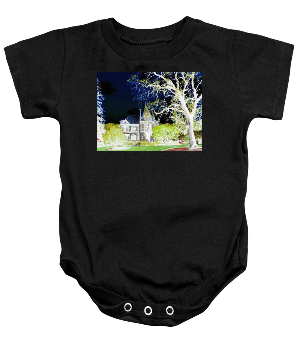 Impressions Baby Onesie featuring the digital art Impressions 9 by Will Borden