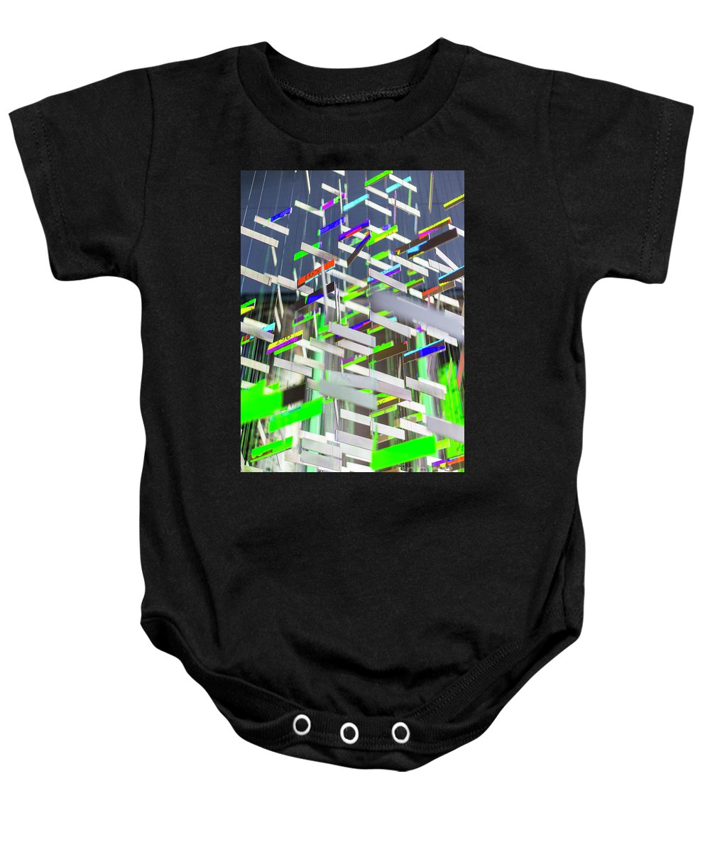 Big Ben Baby Onesie featuring the photograph In London Museums 6 by Alex Art and Photo