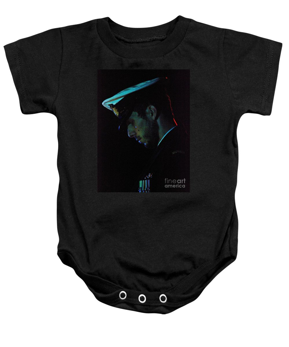 Tribute Baby Onesie featuring the photograph In Repose by Blair Stuart