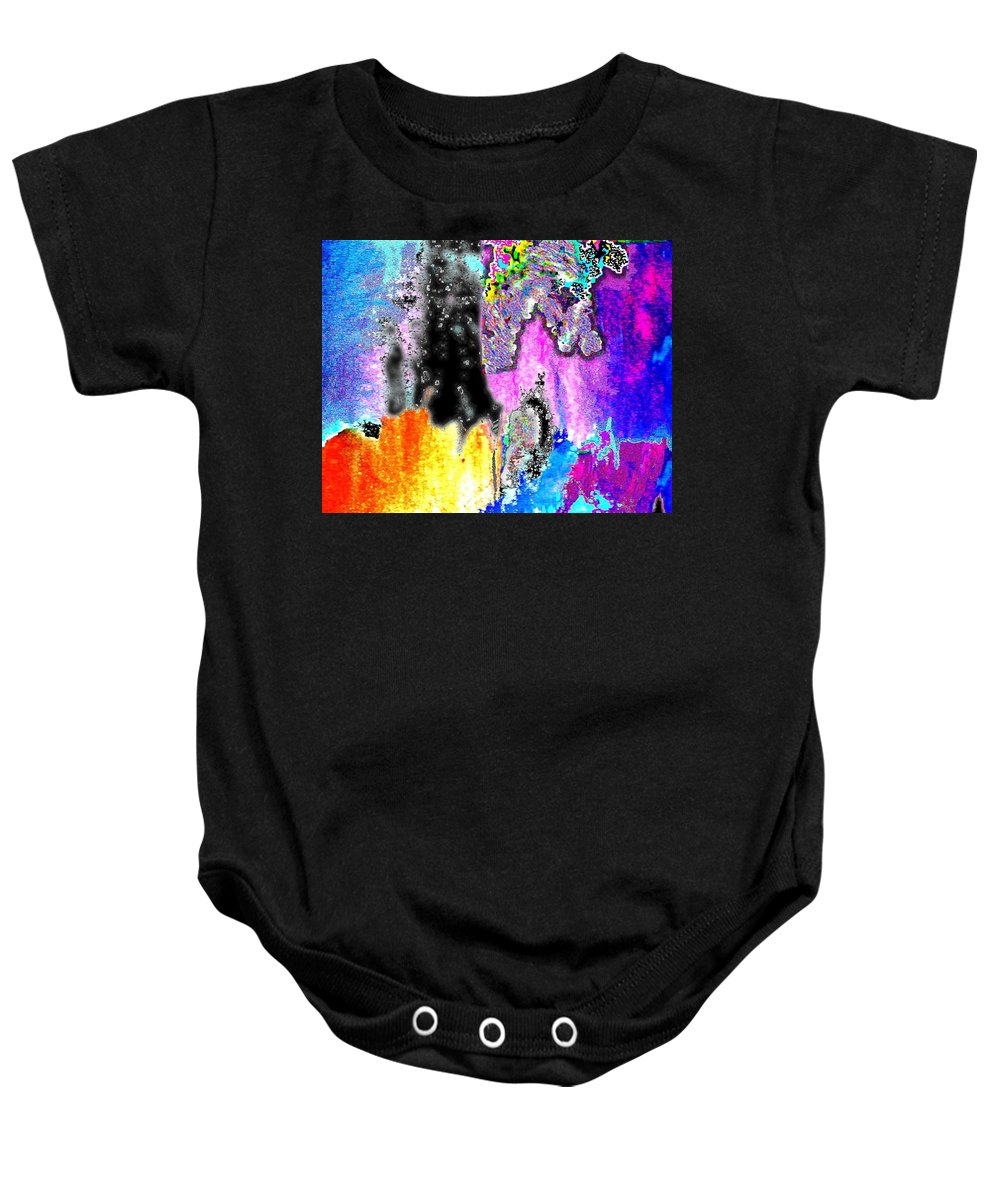 Realistic Baby Onesie featuring the digital art Independence Of Original True Suchness by Contemporary Luxury Fine Art
