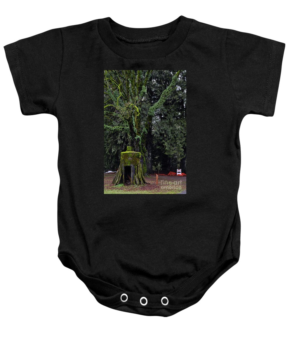 Clay Baby Onesie featuring the photograph Infected by Clayton Bruster