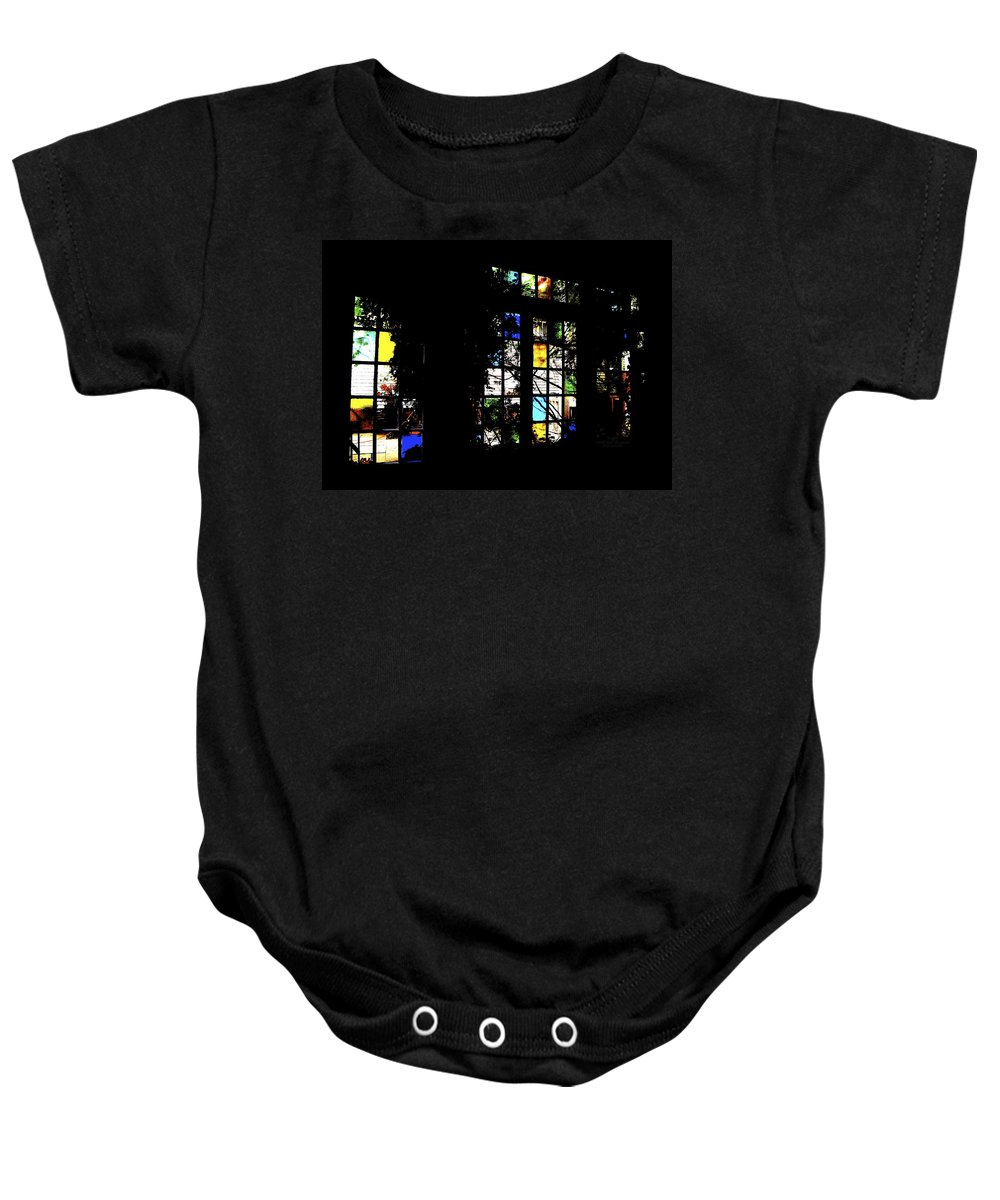 Window Baby Onesie featuring the photograph Insight by Jane Alexander