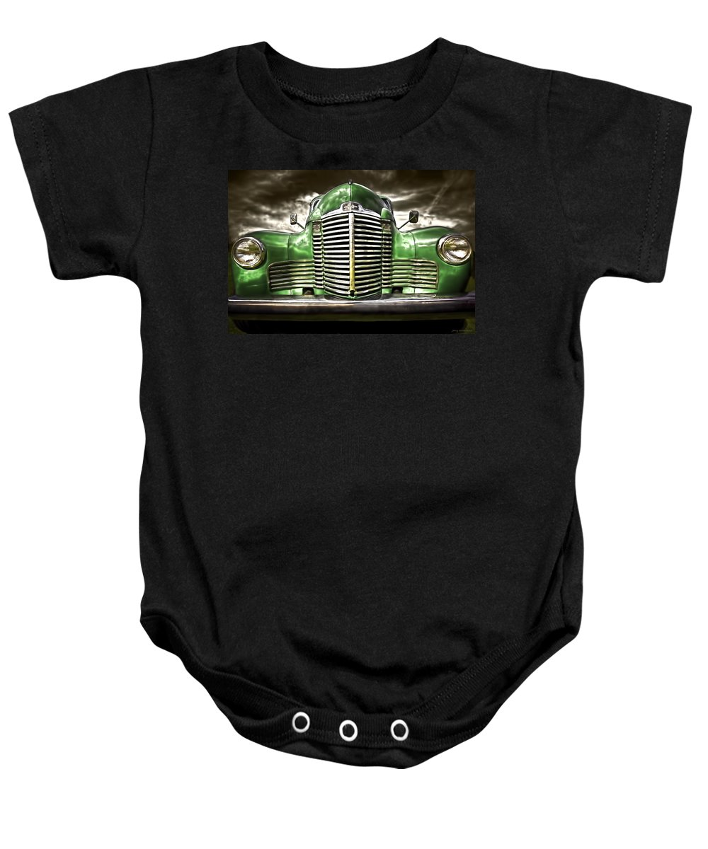 Transportation Baby Onesie featuring the photograph International by Jerry Golab