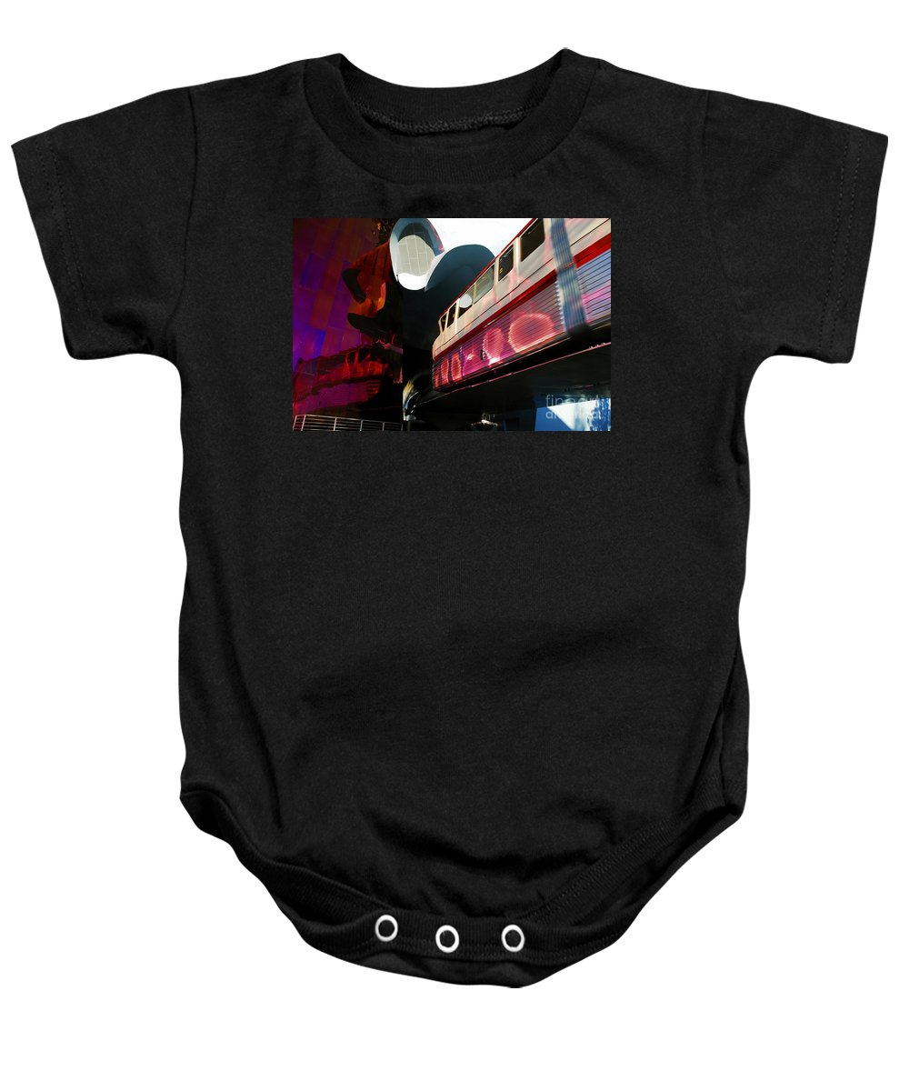Future Baby Onesie featuring the photograph Into The Future by David Lee Thompson