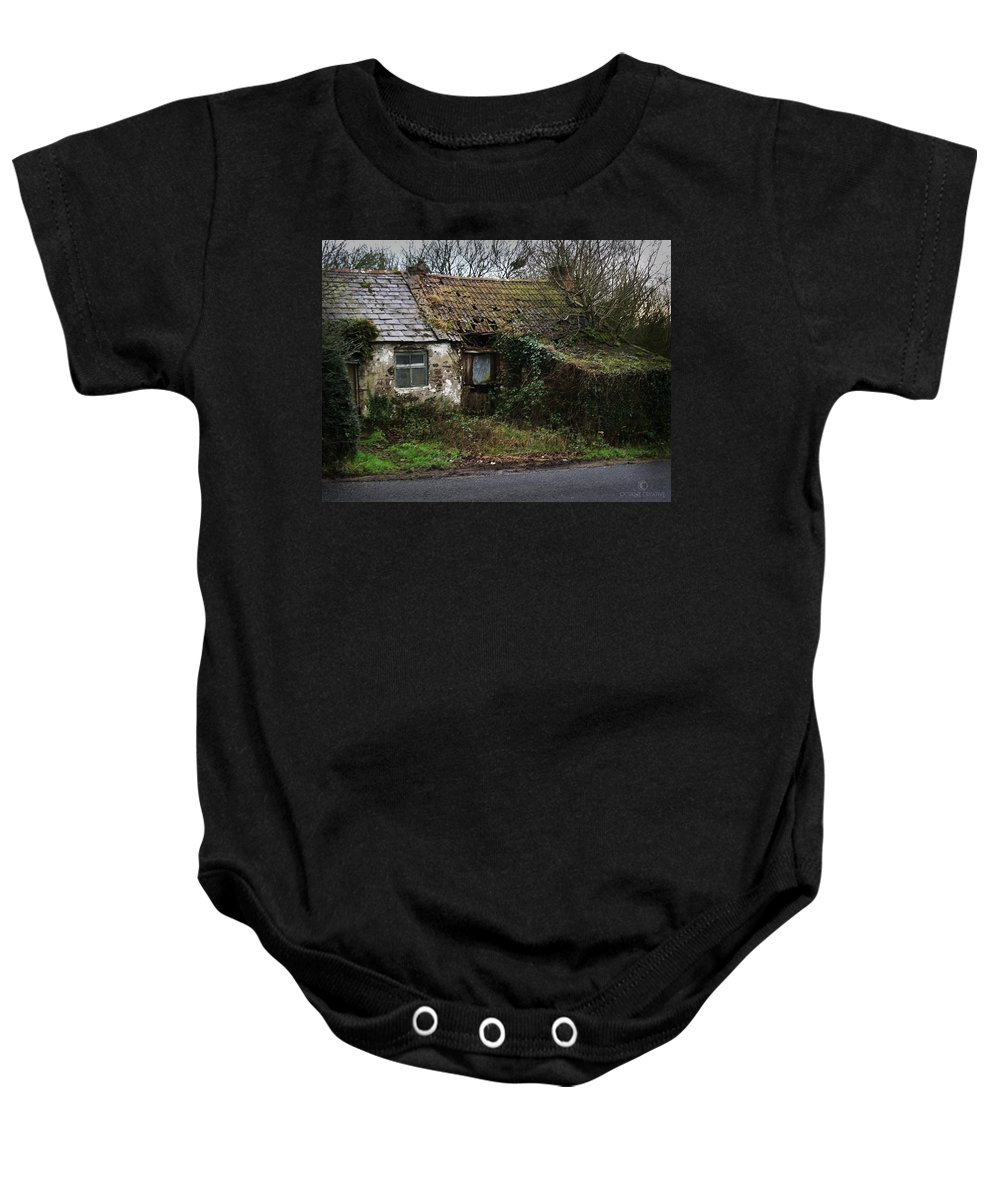 Hovel Baby Onesie featuring the photograph Irish Hovel by Tim Nyberg