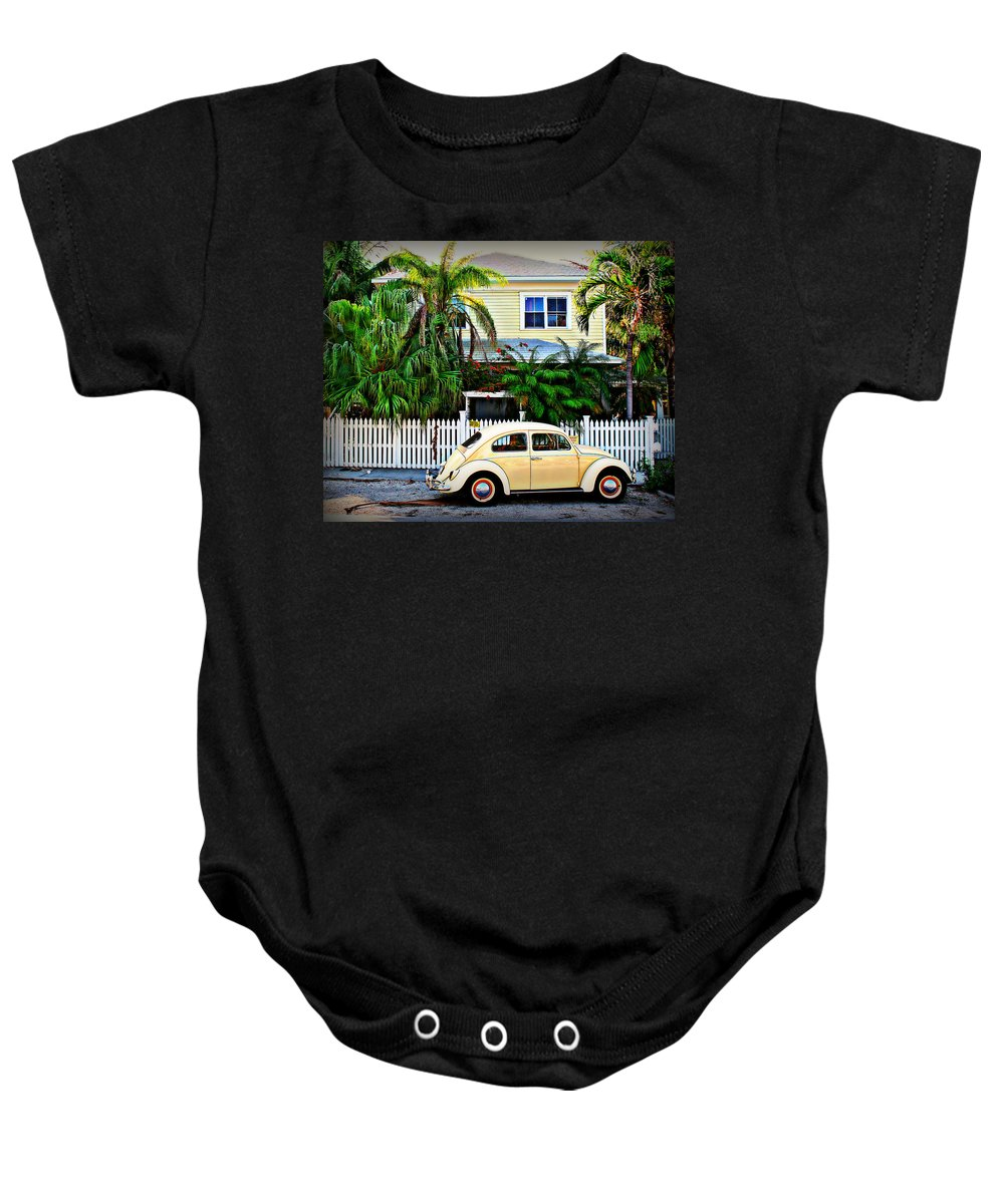 Vw Baby Onesie featuring the photograph Island House by Perry Webster