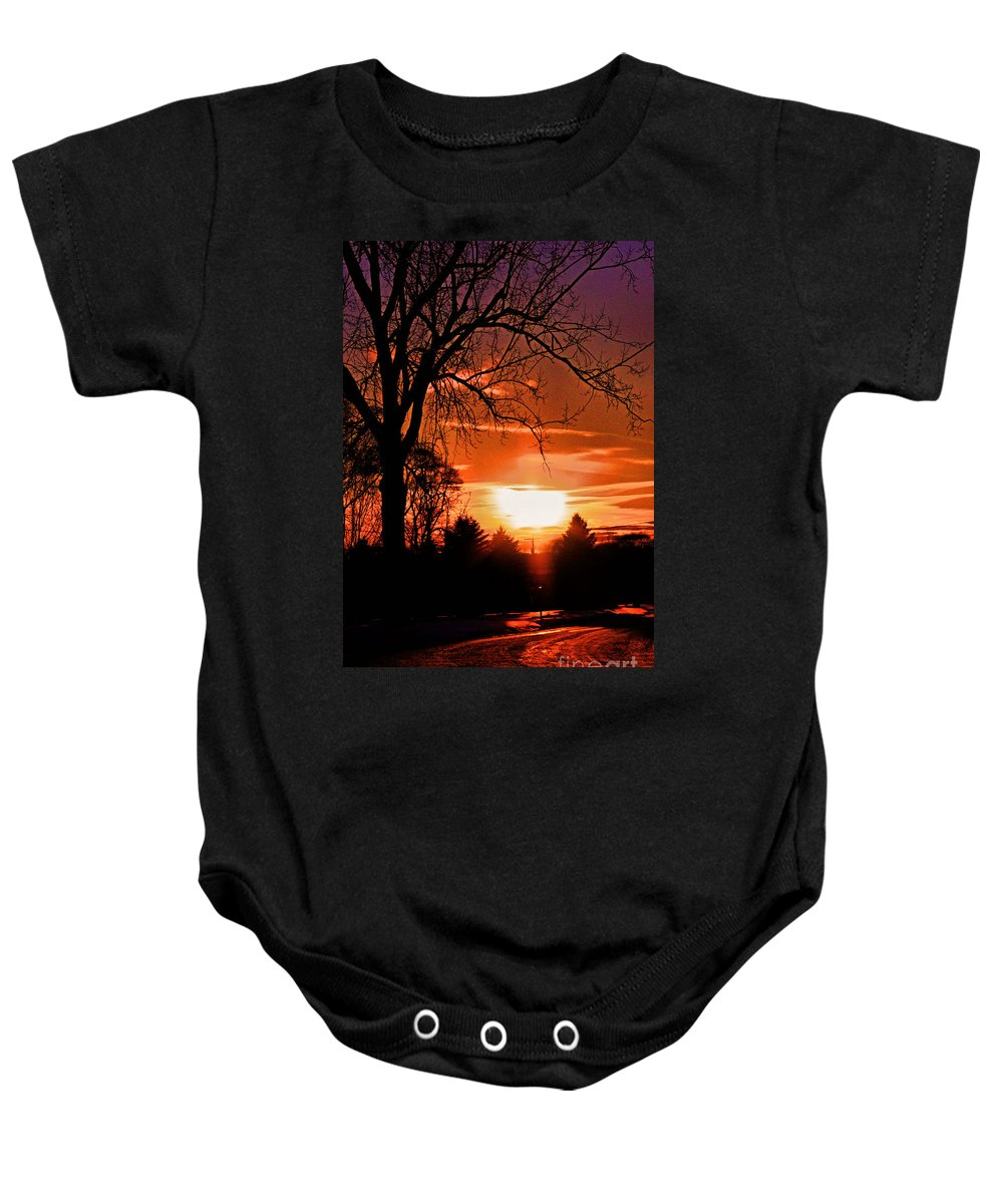 Country Baby Onesie featuring the photograph Jazmin by September Stone