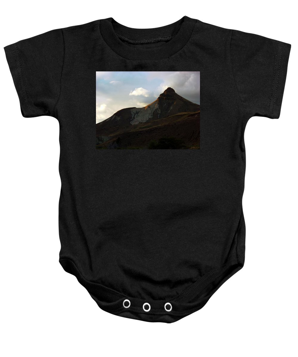 Sunset Baby Onesie featuring the photograph Jd Sunset 3 by Sara Stevenson