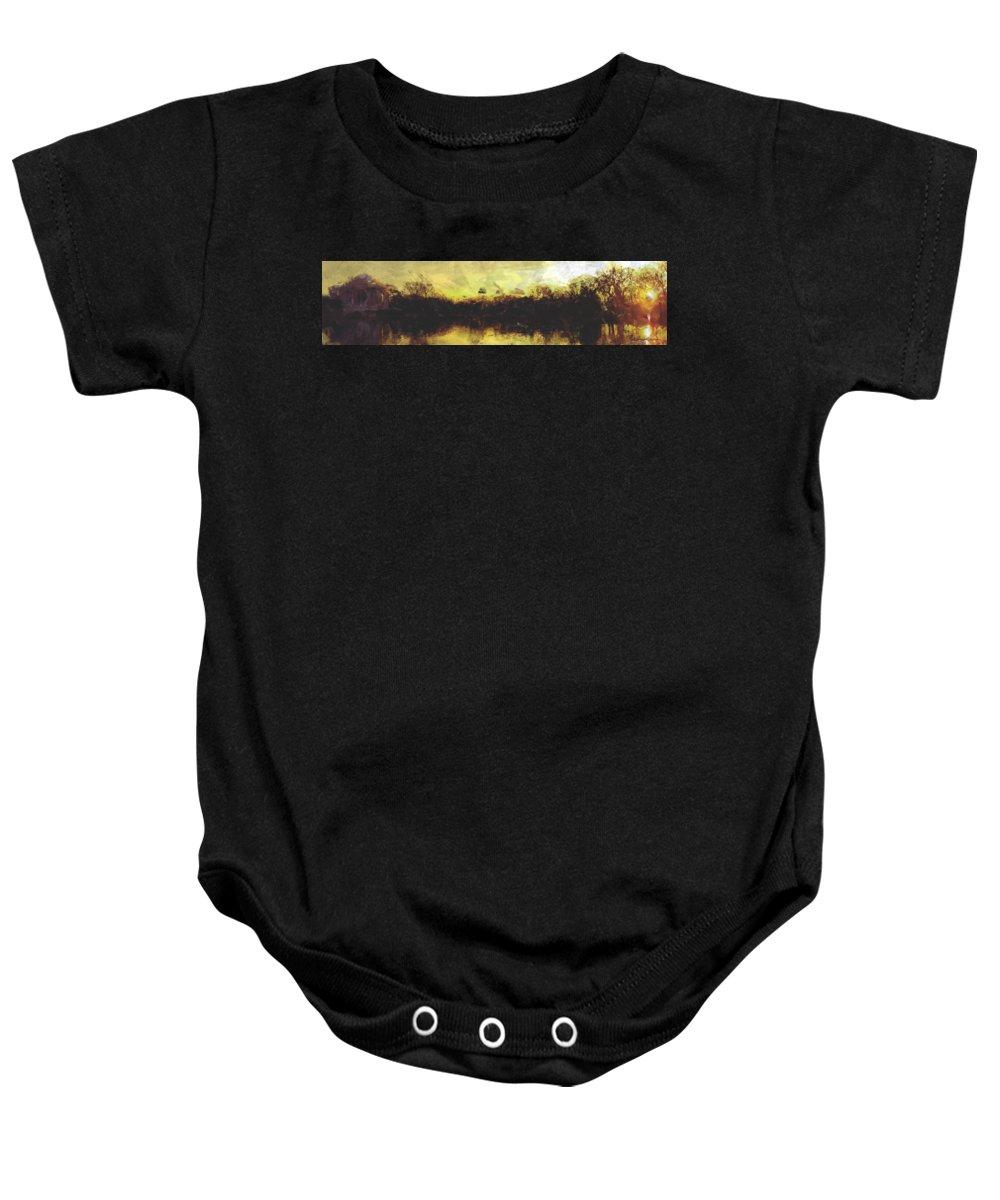 Jefferson Memorial Baby Onesies
