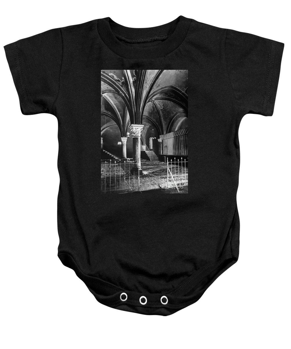 1910 Baby Onesie featuring the photograph Jerusalem: Last Supper by Granger