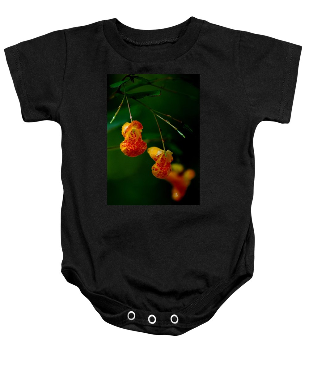Digital Photograph Baby Onesie featuring the photograph Jewel 2 by David Lane