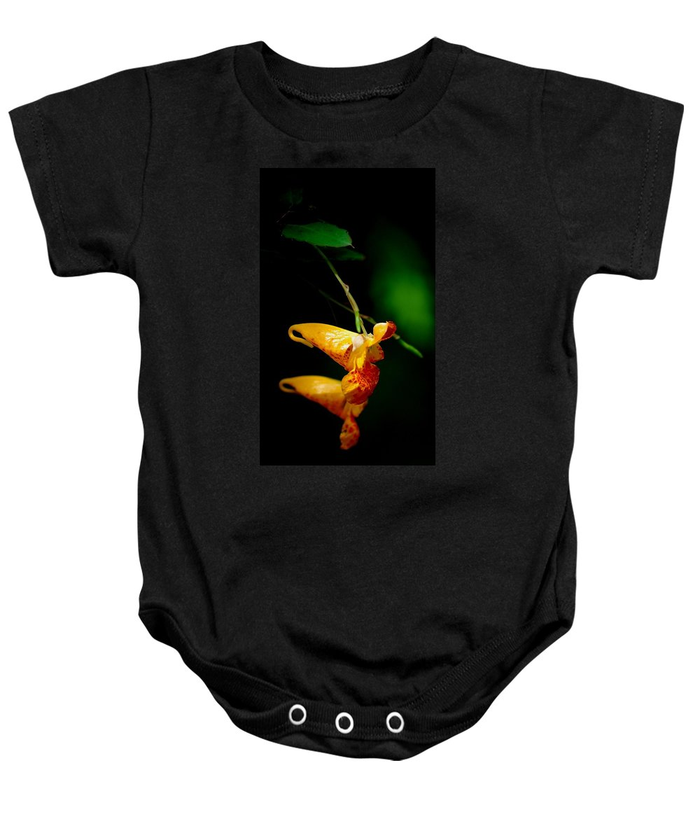 Digital Photograph Baby Onesie featuring the photograph Jewel by David Lane