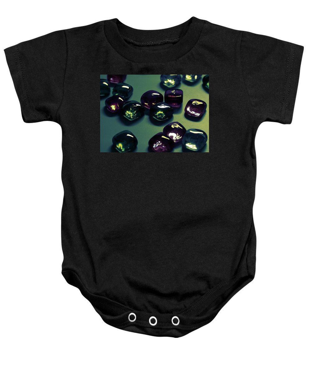 Glass Baby Onesie featuring the photograph Jewelz by Lyle Hatch