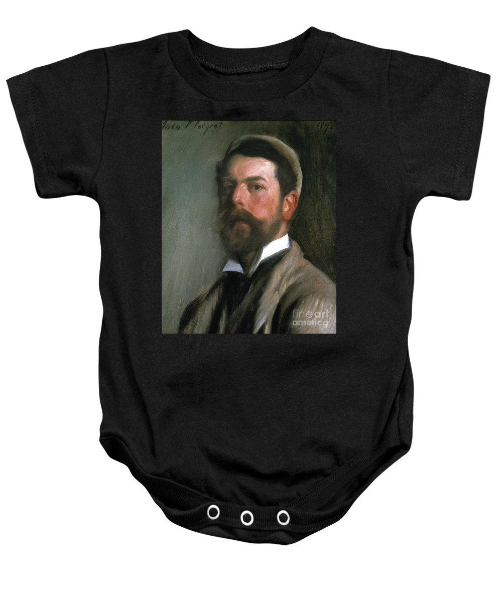 1892 Baby Onesie featuring the photograph John Singer Sargent by Granger