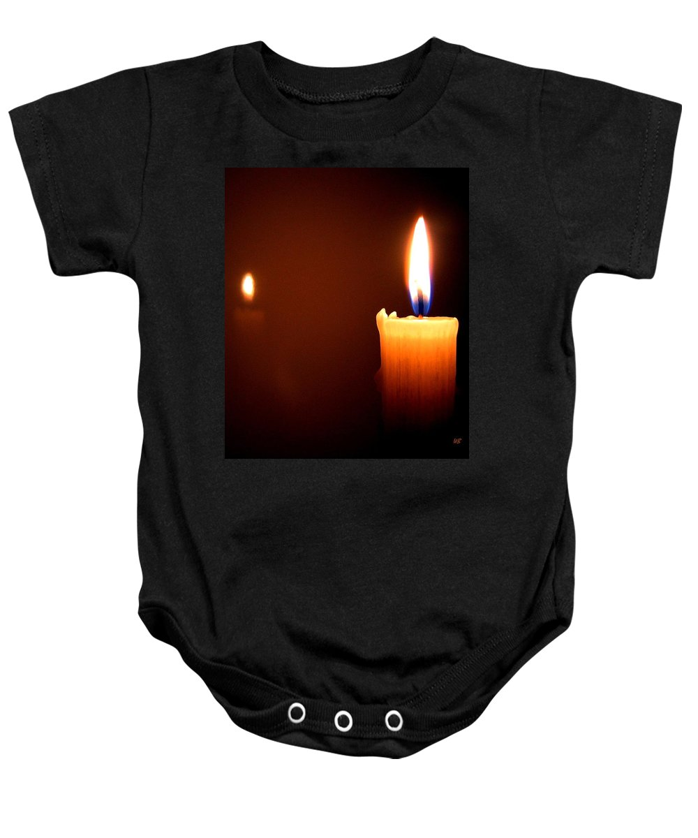 Reflection Baby Onesie featuring the photograph Joie De Vivre by Will Borden