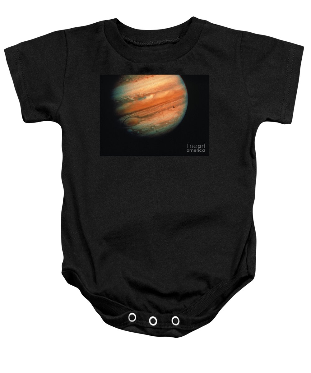 1970s Baby Onesie featuring the photograph Jupiter, Europa, & Io by Granger