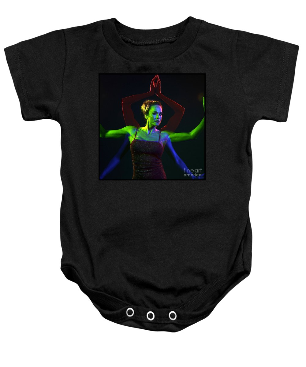 Model Baby Onesie featuring the photograph Kelliergb-11 by Gary Gingrich Galleries