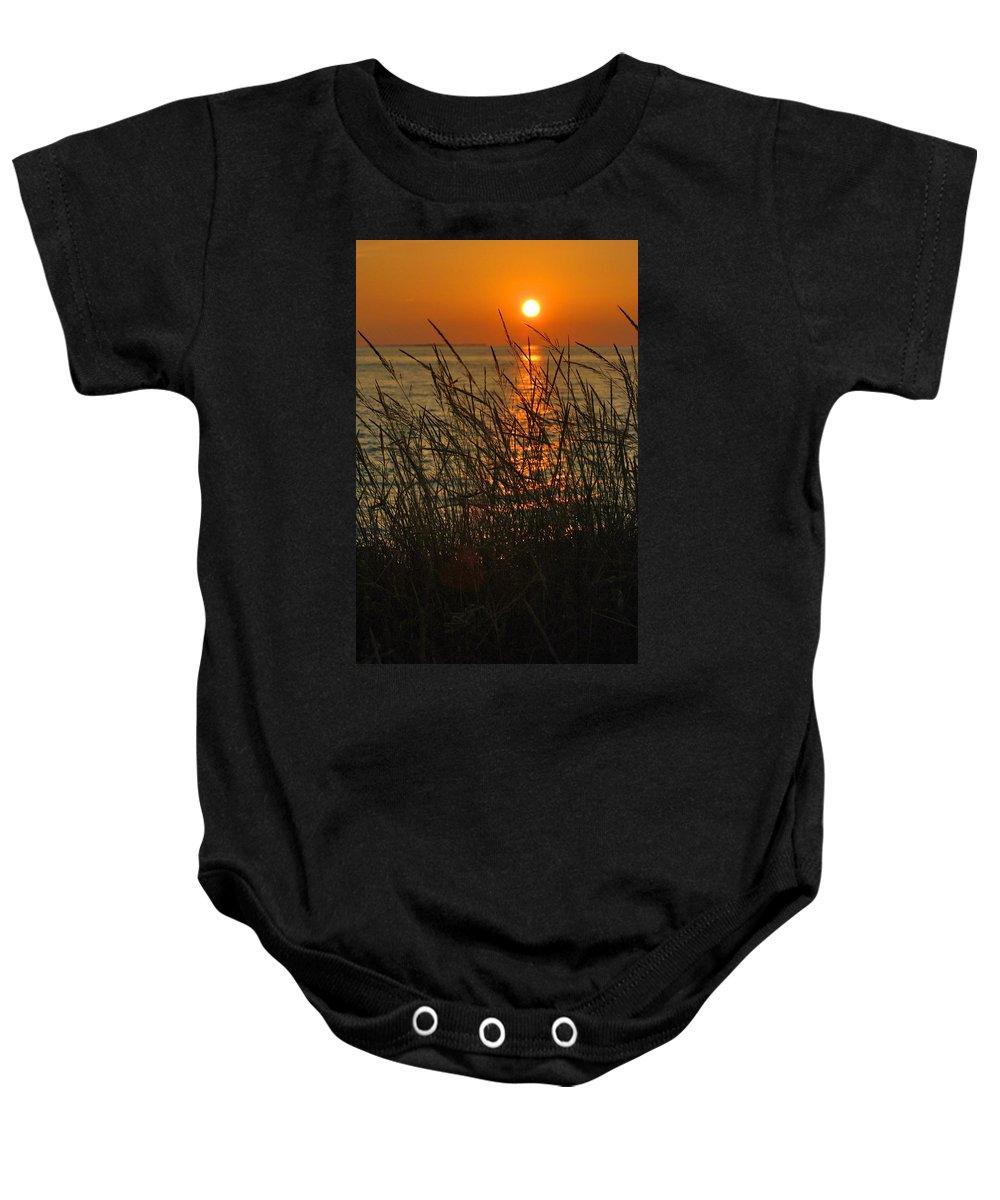 Photography Baby Onesie featuring the photograph Key West Sunset by Susanne Van Hulst