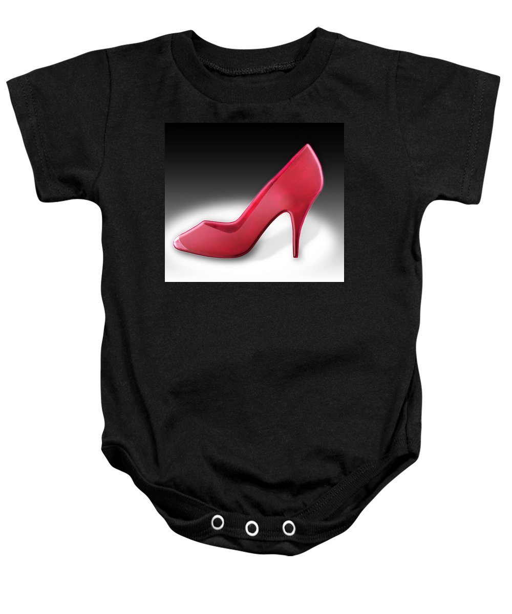 Apparel Baby Onesie featuring the photograph Lady Luck by Yuri Lev