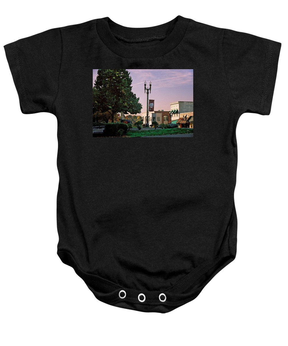 Landscape Baby Onesie featuring the photograph Late Sunday Afternoon by Steve Karol