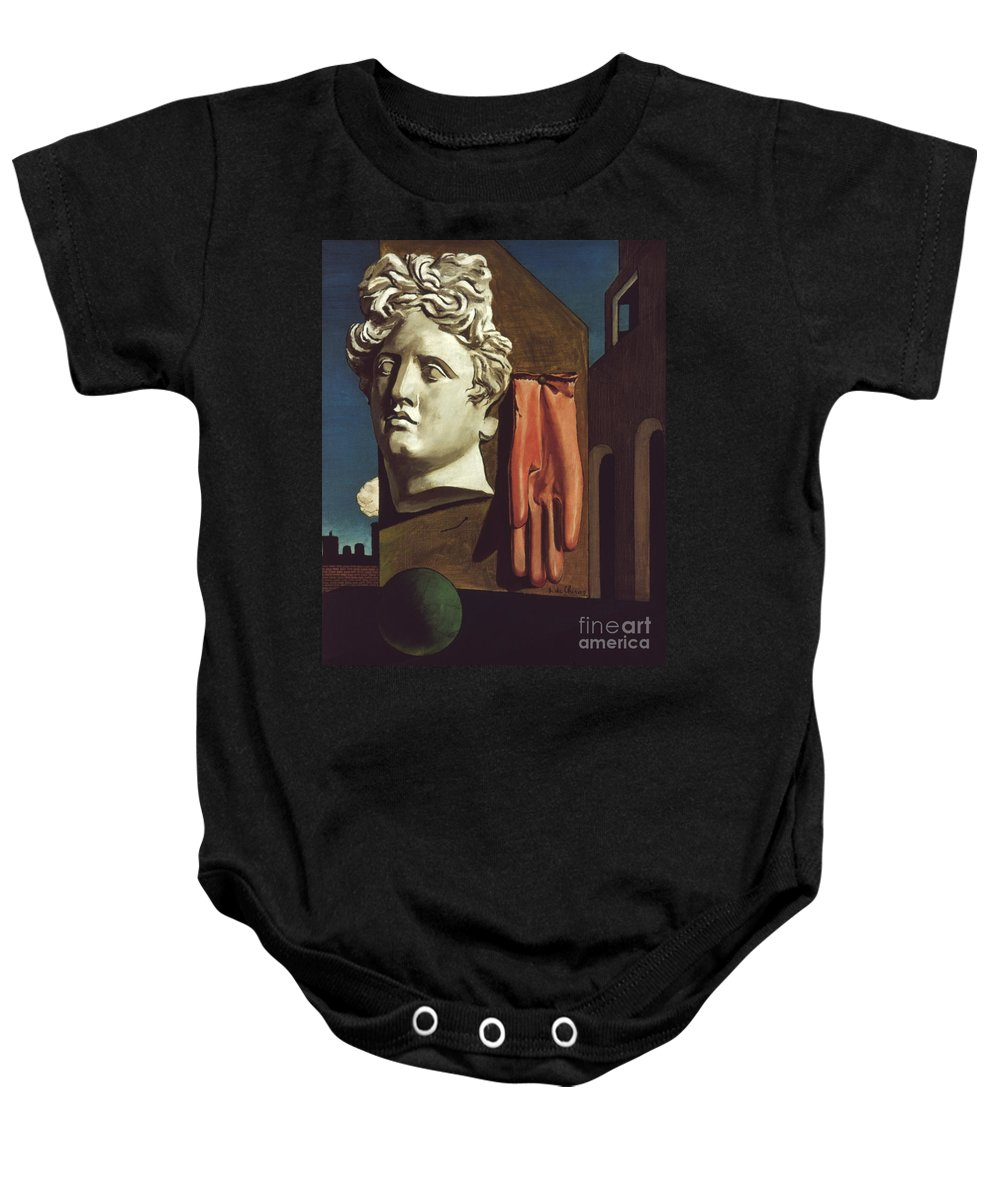 1914 Baby Onesie featuring the photograph Le Chant Damour, 1914 by Granger