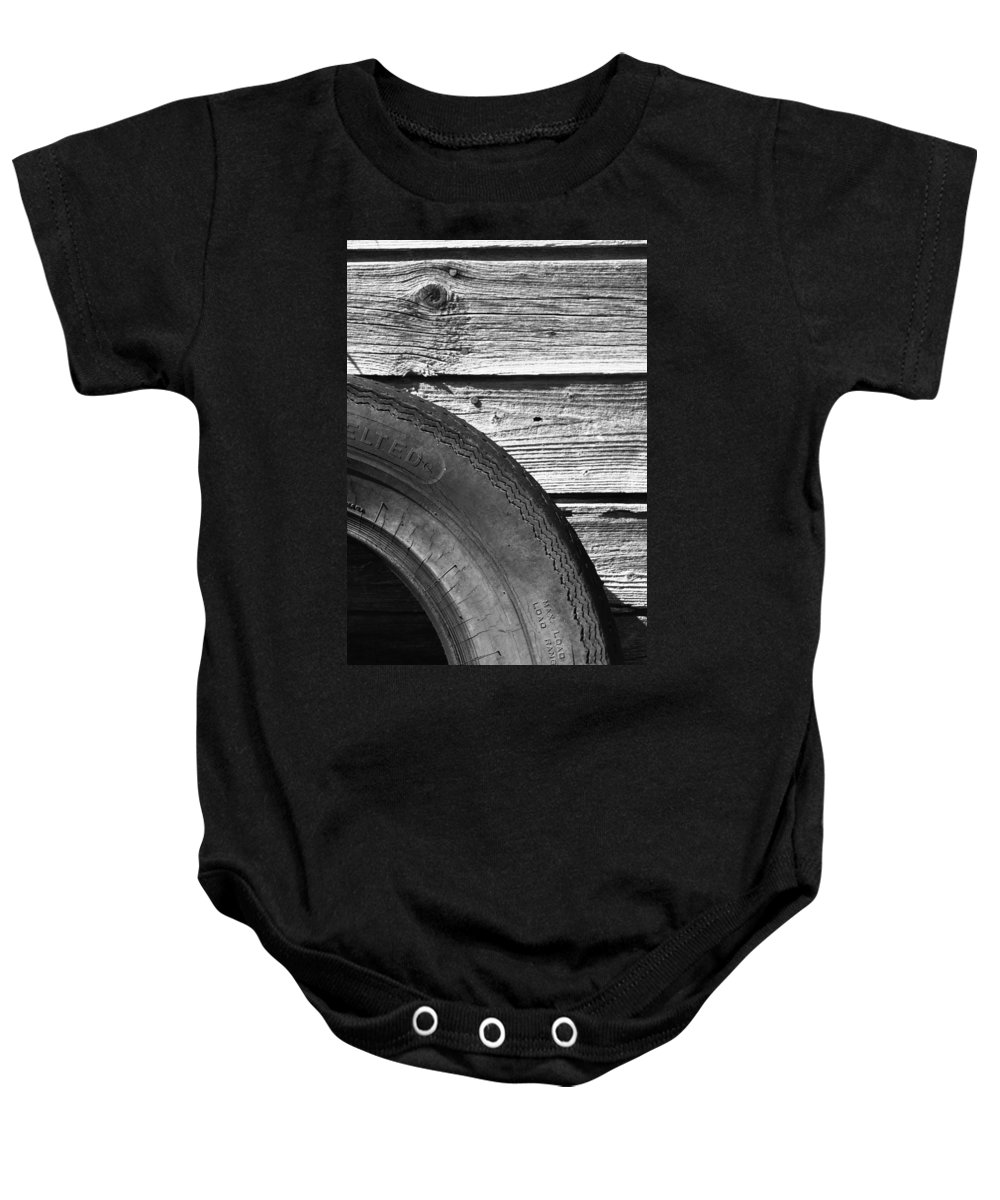 Landscapes Baby Onesie featuring the photograph Left Panels by The Artist Project