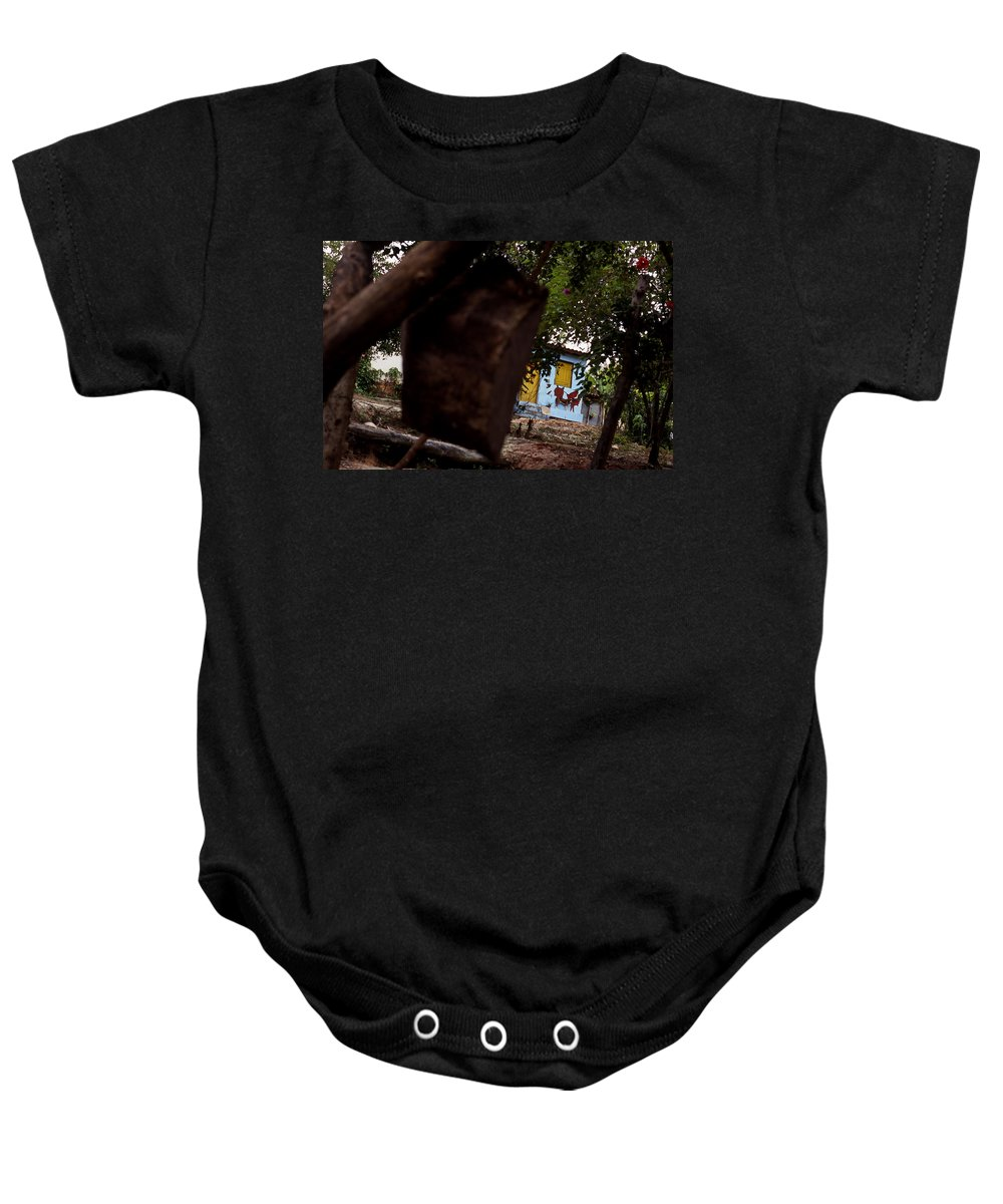 Dog Baby Onesie featuring the photograph Lencois - Dog by Patrick Klauss