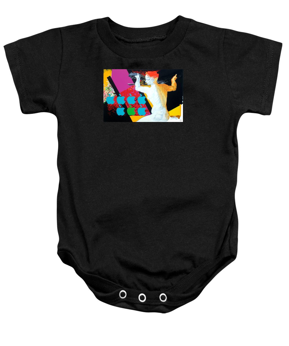 Classic Baby Onesie featuring the painting Libyan by Jean Pierre Rousselet