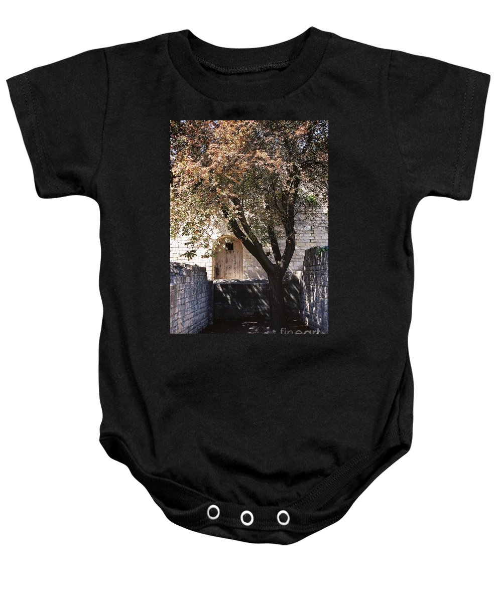 Life Baby Onesie featuring the photograph Life And Death by Nadine Rippelmeyer