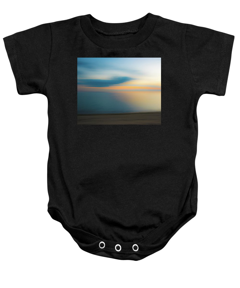 Cape Cod Baby Onesie featuring the photograph Light On The Bay by Karen Regan