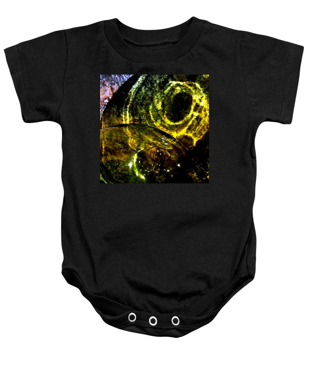 Glass Ball Baby Onesie featuring the photograph Limelight by Will Borden