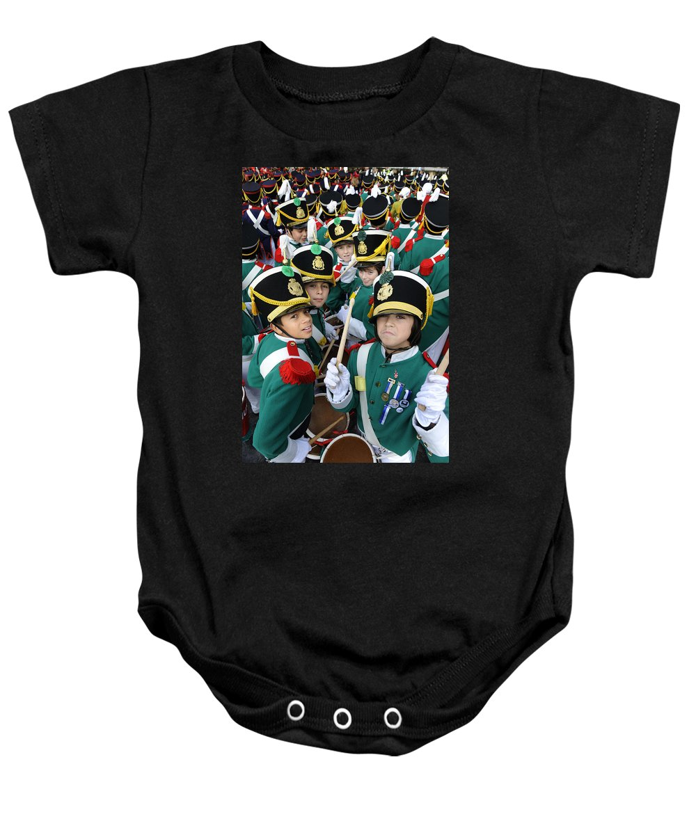Spain Baby Onesie featuring the photograph Little Soldiers Vi by Rafa Rivas