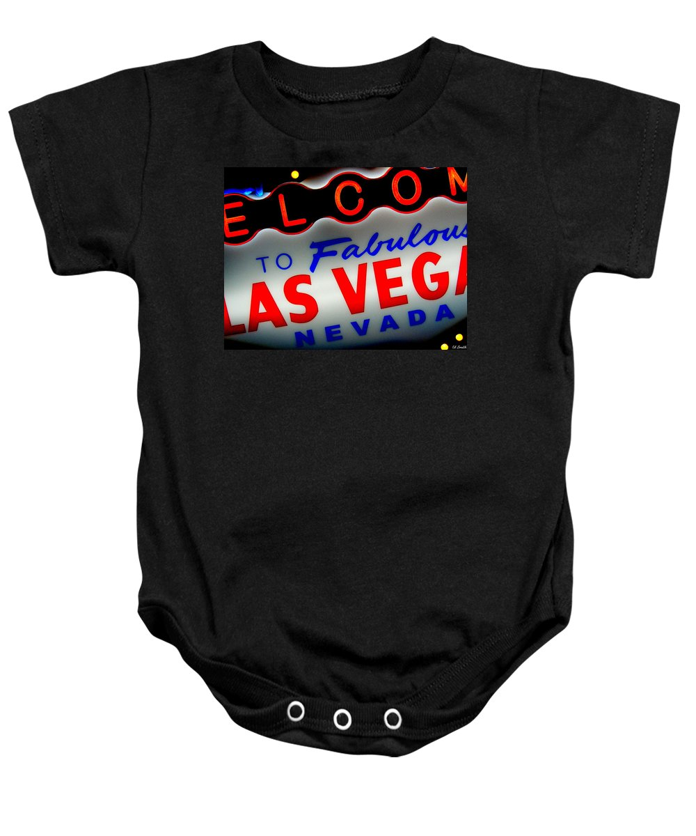 Lost Baby Onesie featuring the photograph Lost In Vegas by Ed Smith