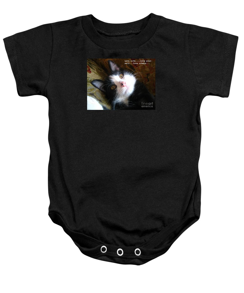 Photograph Baby Onesie featuring the photograph Love Life by Reb Frost