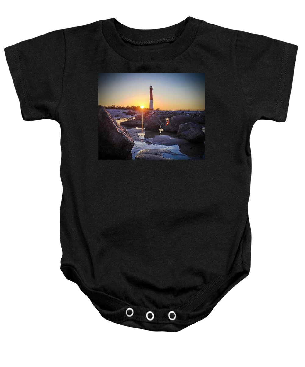 New Jersey Baby Onesie featuring the photograph Low Light by Kristopher Schoenleber