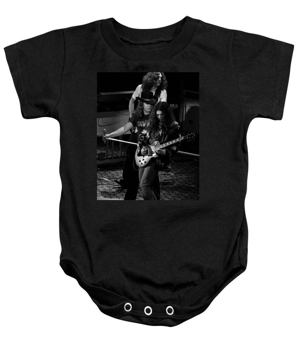 Lynyrd Skynyrd Baby Onesie featuring the photograph Ls #45 Crop 3 by Ben Upham