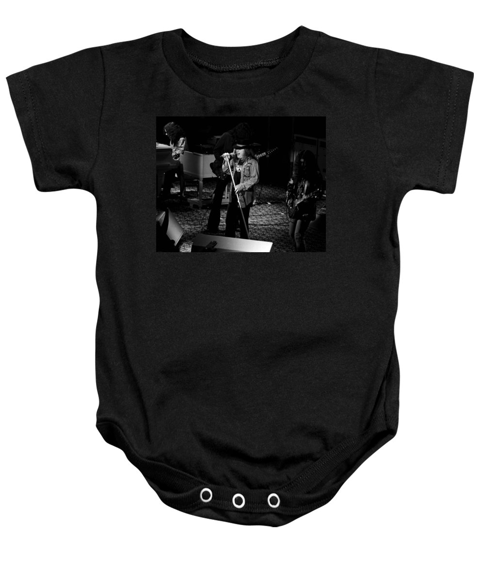 Lynyrd Skynyrd Baby Onesie featuring the photograph Ls #47 Crop 2 by Ben Upham
