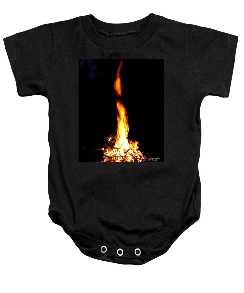 Fire Baby Onesie featuring the photograph Lumiere by September Stone