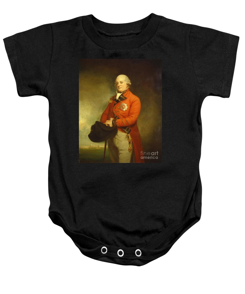 George Romney Baby Onesie featuring the painting Major-general Sir Archibald Campbell by George Romney