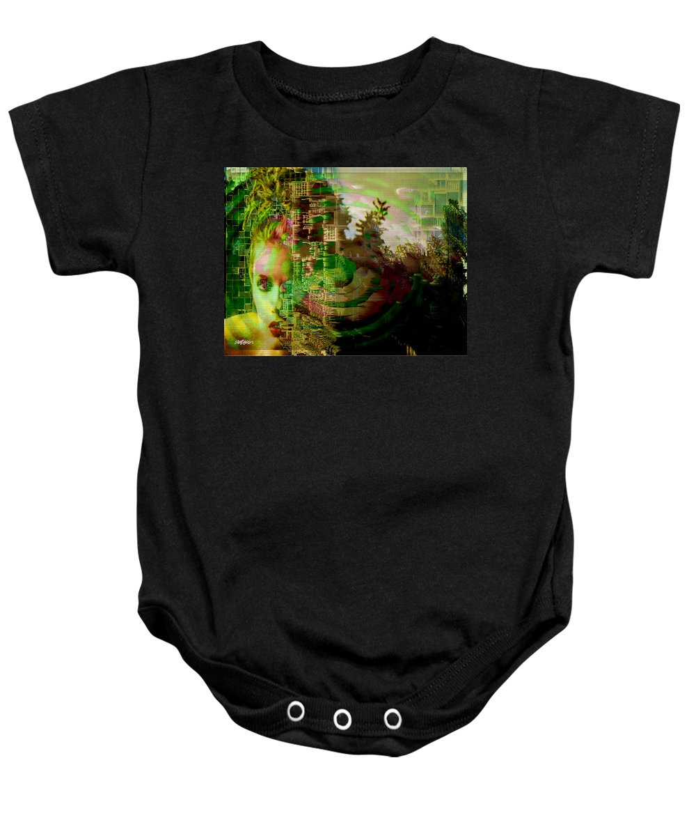 March Of Time Baby Onesie featuring the photograph March Of Time by Seth Weaver