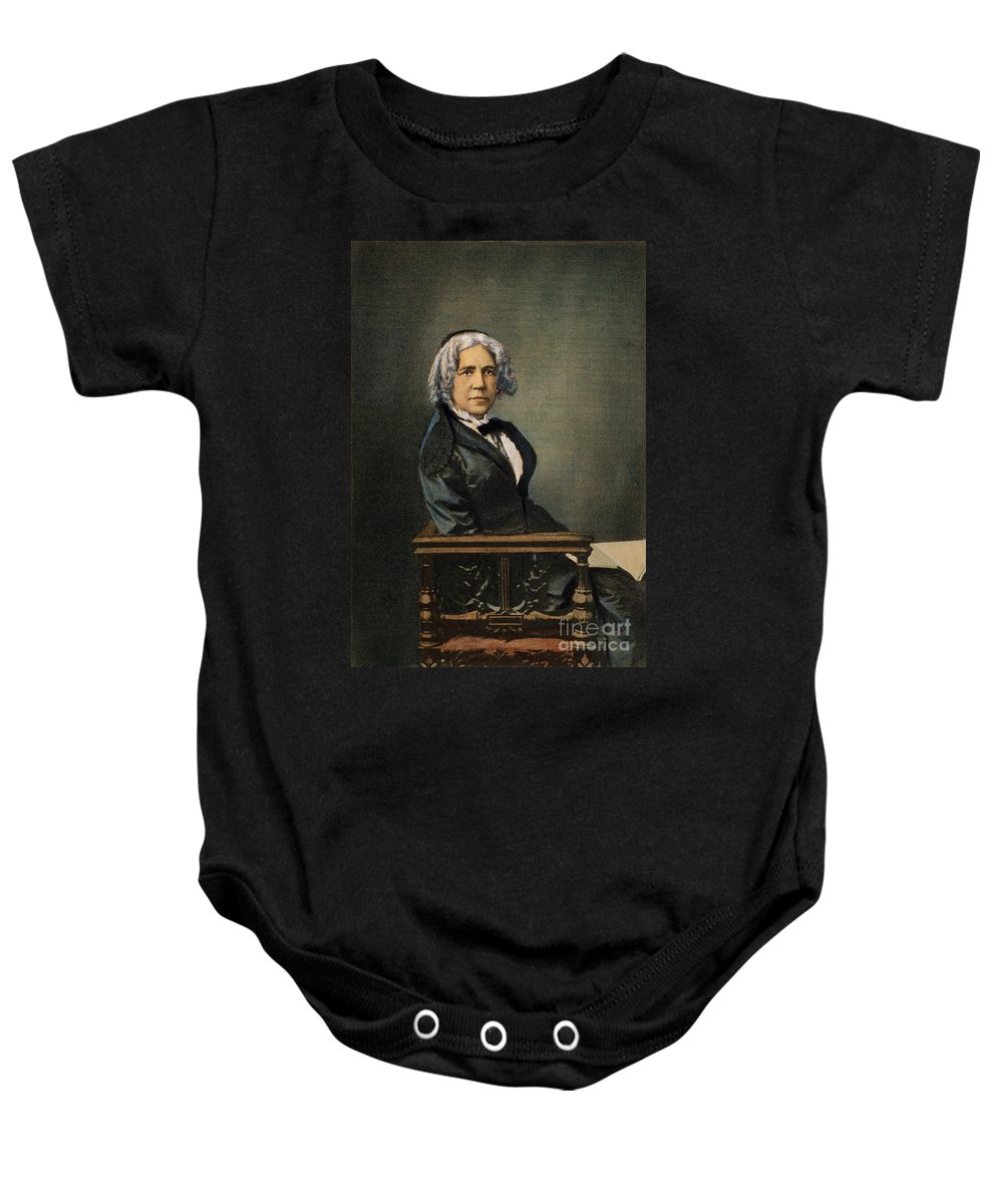 19th Century Baby Onesie featuring the photograph Maria Mitchell (1818-1889) by Granger