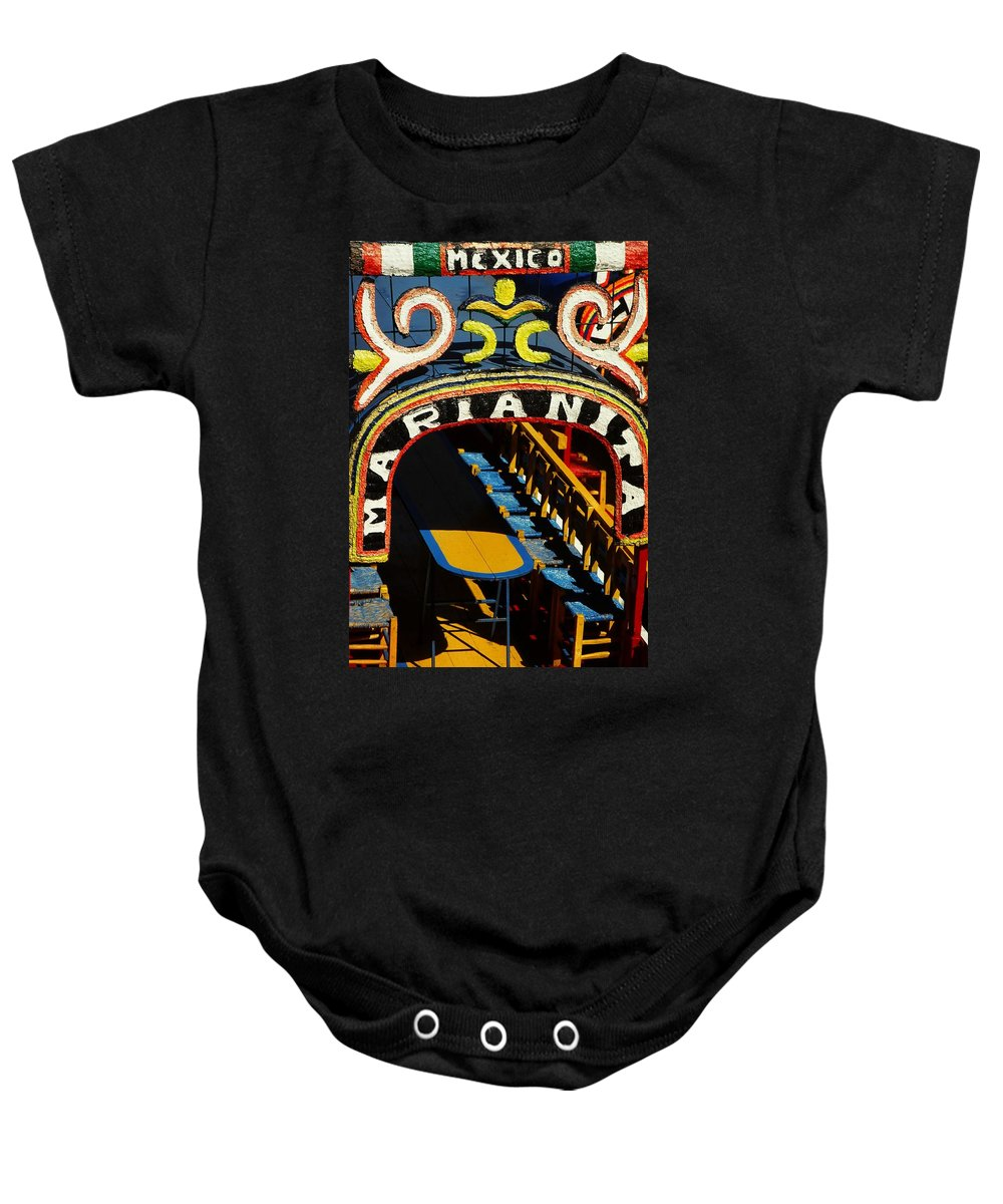 Central America Baby Onesie featuring the photograph Marianita by Juergen Weiss
