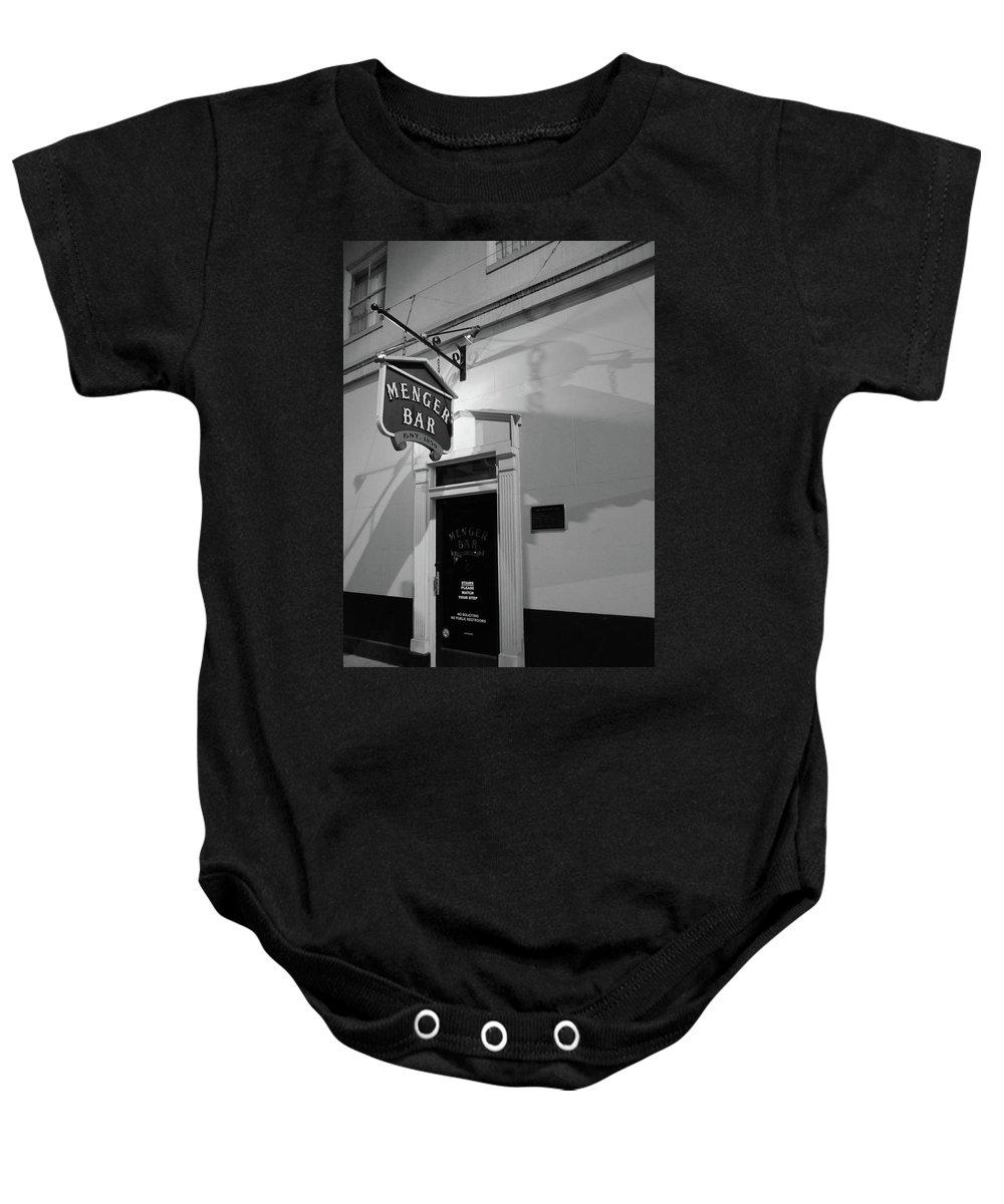 Bar Baby Onesie featuring the photograph Menger Bar by Robert A Jones